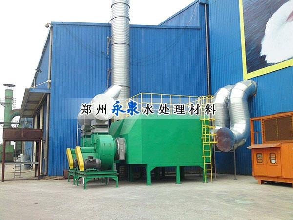 活性炭吸附装置案例