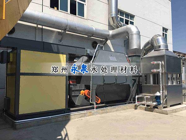 活性炭催化燃烧工程案例