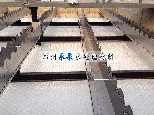 蜂窝斜管填料使用案例
